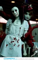 Alice Madness Returns Cosplay - Hysteria Version by LittleSister84