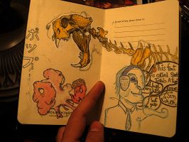 Mini-sketchbook first page by felix-bambaboy