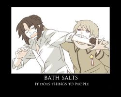 bath salts demotivational by ChocolateLover482