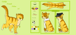 Goldy Reference sheet November 2012 by xseashell