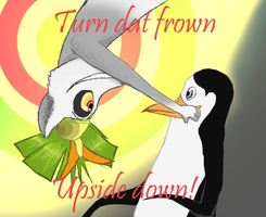 Julien and Kowalski Turn that frown upside down by ZimPLUSDib