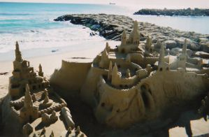 Sand Sculpture 2 by Alondra-chui