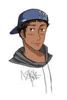APH: New York doodle by kamillyanna