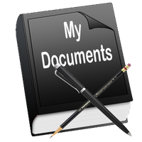 Book Icon-My Documents by 0dd0ne