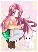My Little Pony Friendship is Magic: Fluttershy by kiriche