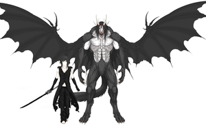 Cain Size Comparison WIP by Arrancarfighter