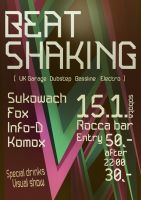 Flyer - Beat Shaking by K0M0X