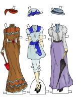 Betsy Jane dresses colors by electricjesuscorpse