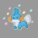 what a fabulous mudkip by Blue-Lollypop