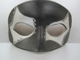 Black and silver mask by maskedzone