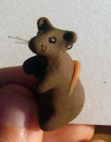 Sculpted Rat charm by Stormslegacy