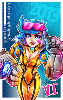 Happy New Year 2013 | Neon Strike Vi by Jynxed-Art