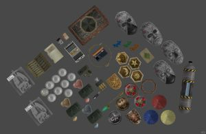 'Resident Evil: Remake' Re-make Items Pack 2 XPS!! by lezisell
