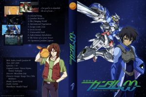 Gundam 00 DVD Cover - Ep1-10 by ViraMors