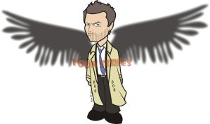 Castiel - Supernatural by toonseries