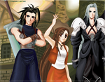 final fantasy 7 by Tidi-Lebre