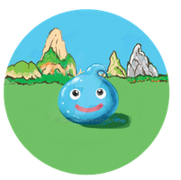 Slime Button by Shinyako