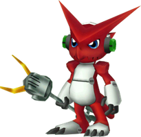 Shoutmon rigged and downloaded by ExamonFan