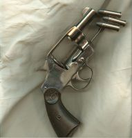 Stock-naked Colt.45 + bullets by idolhands