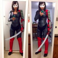 DC's New 52 Katana Cosplay by crystal221