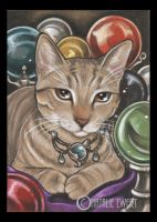 Bejeweled Cat 49 by natamon