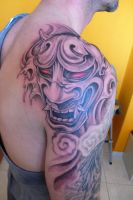 hannya mask by fpista