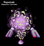 PokeFusion - Electromagnetic Specter by TerriblyJadedGamer