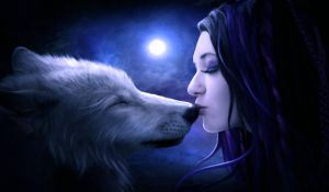 Moon kiss by ElenaDudina