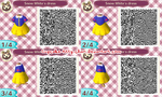 QR Code: Snow White's Dress by Cupcake-Kitty-chan