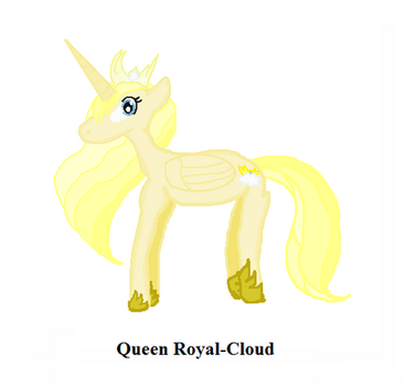 Queen Royal Cloud by Galeshine