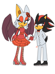 mr shadow and ms rouge by Sarena-2
