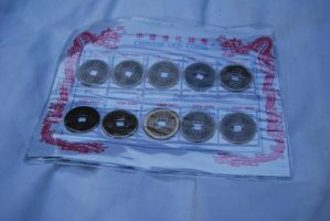 chinese coin stock by DestroyingAngels