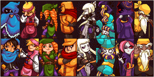 Towerfall Ascension Characters Portraits by euamodeus