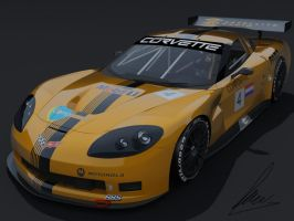 Chevrolet Corvette C6-R by jesterv2