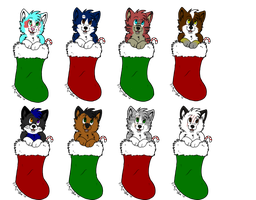 2010 Christmas Adopts by thegypsybeaner