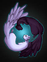 Yin and Yang by damphyr