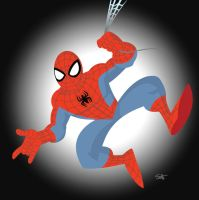 Spidey (Vector) by scootah91