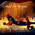 Another Deadpool valentine- by ladyevel