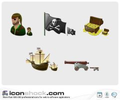 Pirates Vista Style by Iconshock