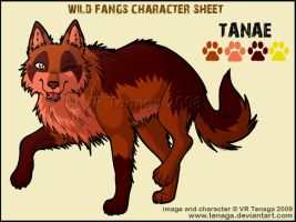 Wild Fangs Sheets_Tanae by Tenaga