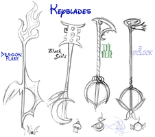 Keyblades by tagness