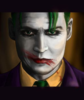 Joker (Johnny Depp) by MomentsOfBloom