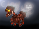 Halloween adopt 1#(Mine now) by lalacat2000