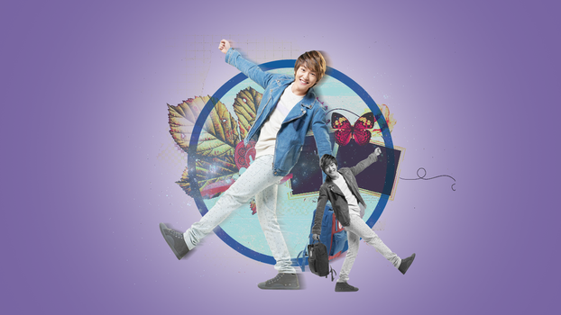 Wallpaper: SHINee Onew by HanJeossi