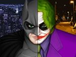 Batman and the Joker - colored by Sonic1002
