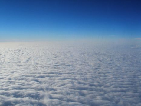 above clouds3 by lampshaded-stock