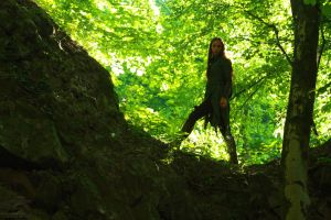 Tauriel in the Woods by HoremWeb