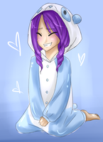 ME AND MY PANDA SUIT by Brixyfire