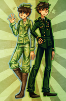 Military!Once-ler by Sora-la