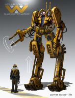 Power Loader redesign by eddie-mendoza